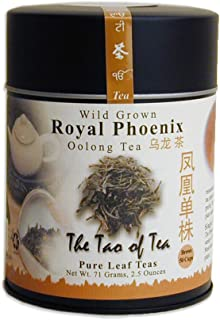 The Tao of Tea, Royal Phoenix Oolong Tea, Loose Leaf, 2.5 Ounce Tin