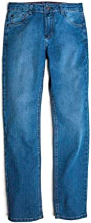 Calça Jeans Reta Vintage Infantil Masculino Stone