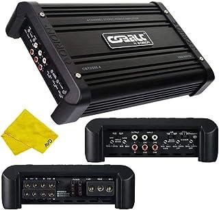 Orion Cobalt 4 Channel Amplifier – Class A/B Multichannel Amplifier 1250W RMS 2500W Max, Car Electronics Car Audio Stereo ... photo
