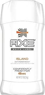 Axe White Label Antiperspirant Stick, Island 2.7 oz (Pack of 2)