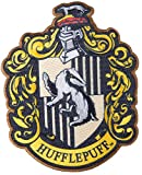 Simplicity 1932161001 Harry Potter Hufflepuff House Emblem Applique Clothing Iron On Patch, 3.5'' x 4.25