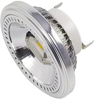 DASKOO G53 AR111 - Foco LED (2 x COB 15 W, sustituye a 120 W, blanco neutro, 4000 K, AC 85-265 V)