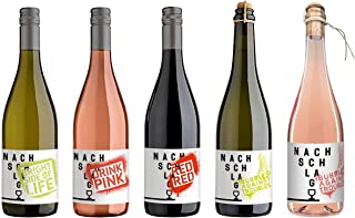 WINZERHOF STAHL Weißwein Roséwein Rotwein Perlweine trocken 5 x 0,75 l Probierpaket NACHSCHLAG Deutscher Wein Stahlwein