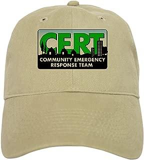 CafePress Official CERT Baseball Cap