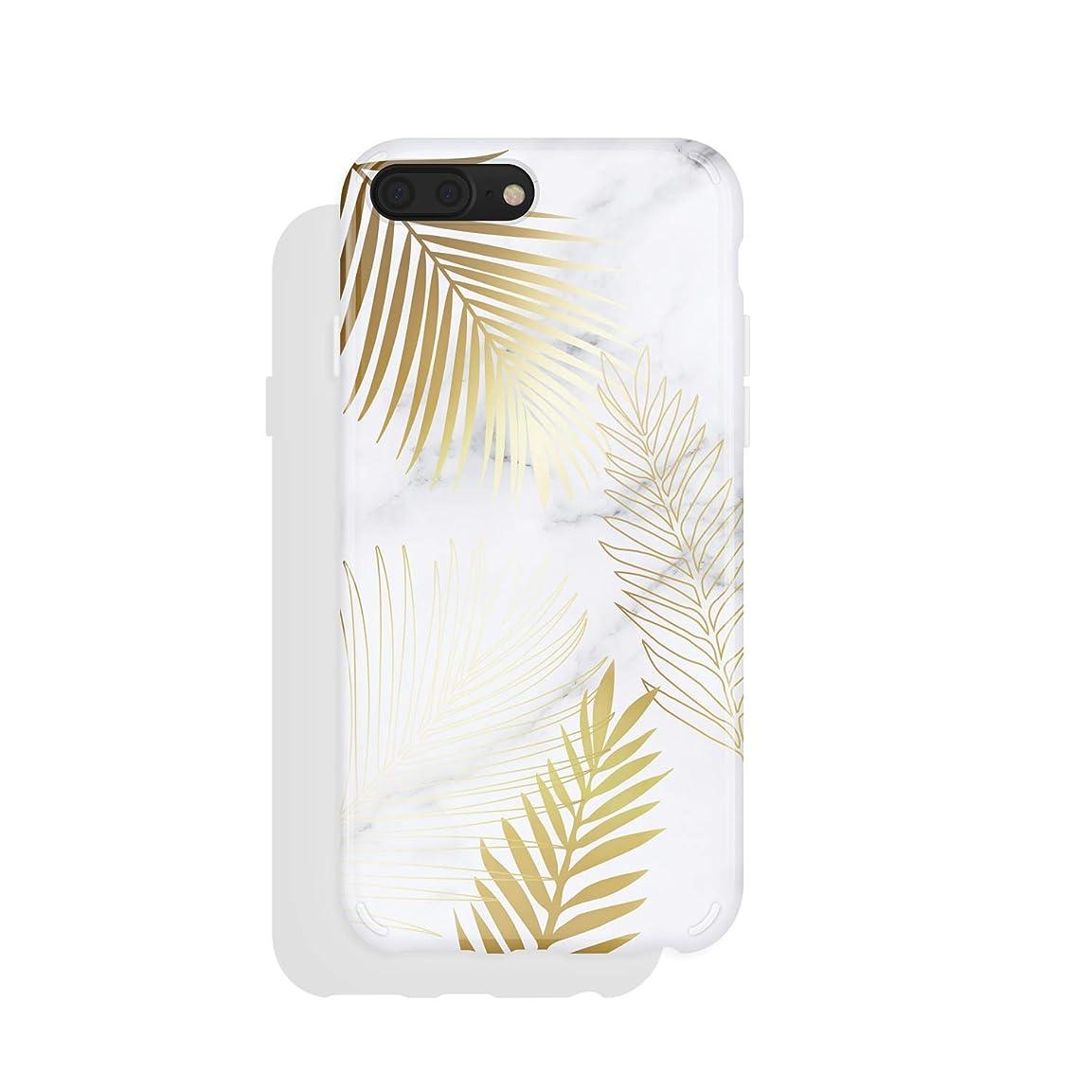 イースターカナダガソリンiPhone 8 Plus&iPhone 7 PlusケースMarble、アクナファンタジーシリーズハイインパクトシリコンカバー、iPhone 8 Plus&iPhone 7 Plus用HDグラフィックス(101390-CA)