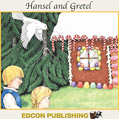 Hansel and Gretel audiobook cover art