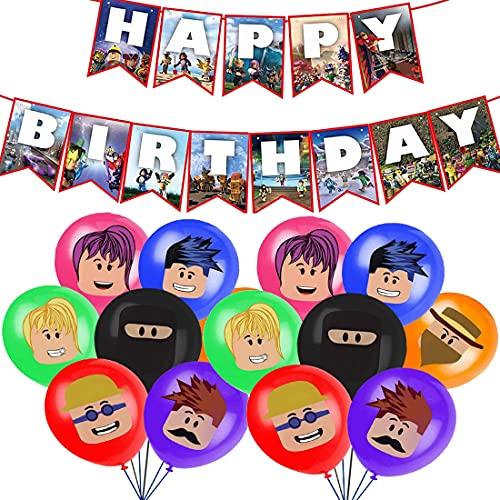 Roblox - Decoración de cumpleaños,...
