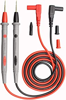 Multimeter Test Leads with Banana Plug Digital Multi Meter Clamp Tester Probe Test Probes Leads for Multimeter Electronic Test Leads Multimeter Accessories