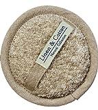 Linen & Cotton Luxus Exfoliating Pad Scrubber Bath Body Massage