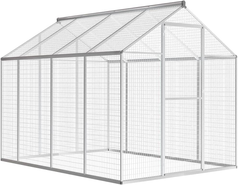 vidaXL Outdoor online shop Aviary Aluminum 75.6