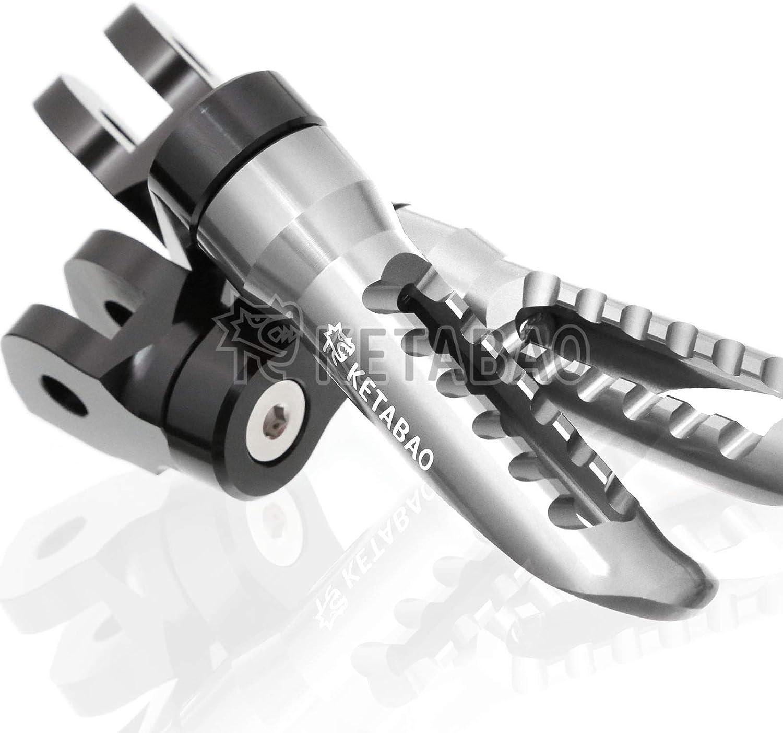 KETABAO Titanium 25mm Adjustable RANGER Pegs Footrest Popular shop Very popular! is the lowest price challenge Foot Front