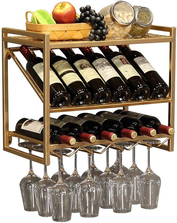 envio rapido a ti DYFYMX Estante de Vino autoportante Estante Europeo Europeo Europeo del Vino Colgante de Parojo Barra Creativa del Restaurante de la Parojo Europea de la Sala de Estar para  bajo precio