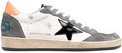 Golden Goose Luxury Fashion Uomo GMF00117F00038680342 Bianco Pelle Sneakers | Primavera-Estate 21