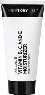 The INKEY List Vitamin B, C and E Lightweight Daily Face Moisturiser to Keep Skin Healthy 50ml