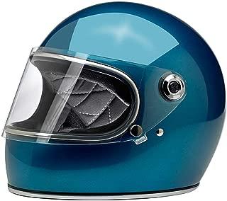 Biltwell Gringo S Helmet (Medium/DOT/ECE) (Pacific Blue)