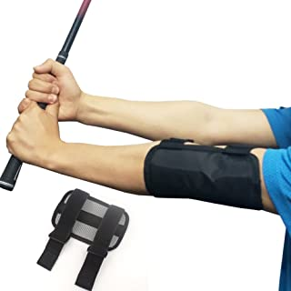 DBAIHUK Golf Training Aids Elbow Correction Straight Practice Golf Swing Trainer