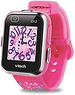 VTech - Kidizoom Smartwatch Connect DX2 – Rose – Montre Connectée Pour Enfants – Version FR
