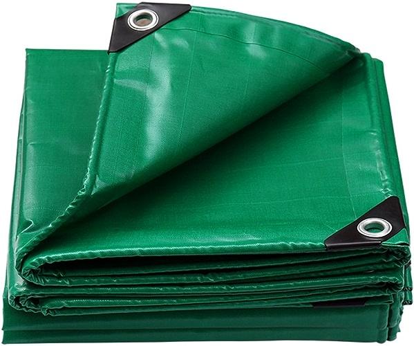 GLJ épaissir Voiture Bache Camion Imperméable Bache Isolation Parasol Pluie Tissu Couverture Auvent Bache Personnalisée bache (Couleur   vert, Taille   2x2m)