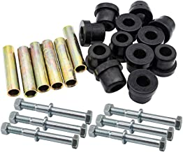 Drive-up Front or Rear Leaf Spring& Front Upper A Arm Suspension for Club Car DS Golf Cart,Bushing and Sleeve & Screw Kit
