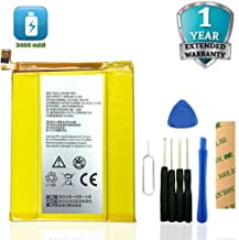 for ZTE ZMax Pro Z981 Replacement Battery Li3934T44P8H876744 Adhesive Tool