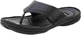 Athlego Synthetic Leather Flip-Flops & Slippers for Men