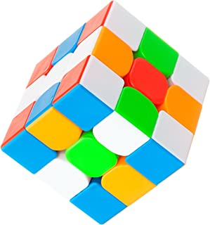 SpeedRipper Lite: New Gen Competition Rubiks 3x3 Stickerless Speed Cube, Easy Turning and Smooth Play, Super Durable with Vivid Colors, Best Puzzle Logic Games Magic Toy for Kids
