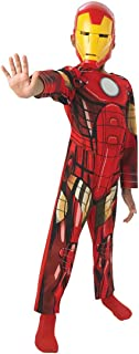Rubie's Official Child's Marvel Avengers Assemble Iron Man Classic - Large