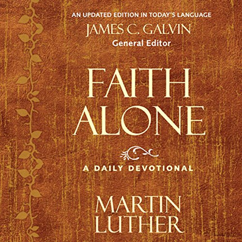Faith Alone audiobook cover art
