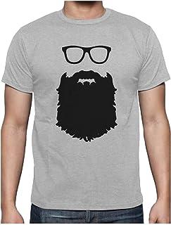 Barbe et Lunettes Drôle Hommes T-shirt tshirt