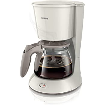 Philips HD7461 - Cafetera de goteo, 1000 W, 1.2 l, color blanco ...