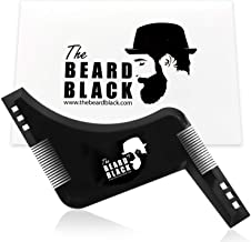 Beard shaping & styling tool with inbuilt comb for perfect line up & edging, use with a beard trimmer or razor to style yo...