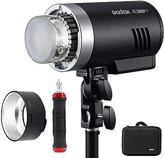 Godox AD300Pro AD300 Pro, 300W 2.4G TTL Flash Strobe Monolight, 1/8000 HSS, 0.01-1.8S Recycle Time, 300 Full Power Pops, 5...