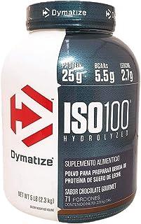 ISO 100 Hydrolyzed 5 Lbs Sabor Chocolate Fundido Dymatize.