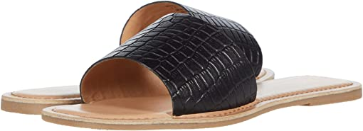 Black Croco Leather