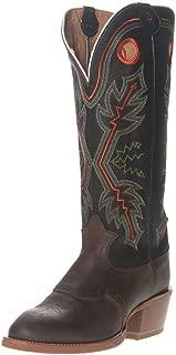 Tony Lama Boot Company Mens Quana Buckaroo 16 Black Top Cowboy Boot 10.5 D Brown