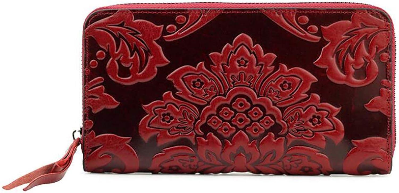 Damen Clutch,lange Brieftasche aus Leder B07L9KJDVN  Wunderbar
