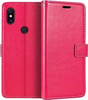 Xiaomi Mi Mix 3 plånboksfodral, premium PU-läder magnetiskt flip fodral med korthållare och ställ för Xiaomi Mi Mix 3