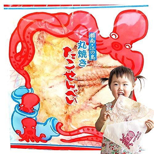 江ノ島名物 行列の たこせん あさひ本店 江の島丸焼きたこせんべい 大判 1枚3袋 23㎝×27㎝ 箱入