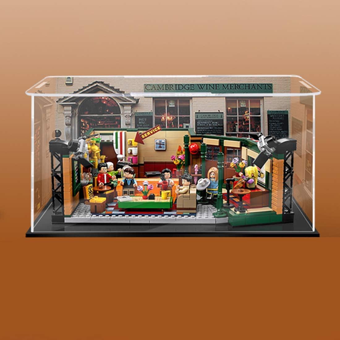 1pc CUSTOM 3 Steps Base Display Case//Box Acrylic Plastic for LEGO Blocks