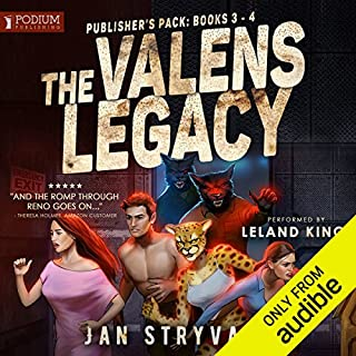 The Valens Legacy     Publisher's Pack 2               Auteur(s):                                                                                                                                 Jan Stryvant                               Narrateur(s):                                                                                                                                 Leland King                      Durée: 13 h et 57 min     11 évaluations     Au global 4,7