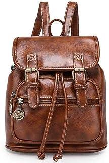 332e0a20af7b4 TIBES grand sac à dos en cuir PU sac à dos décontracté sac à dos des