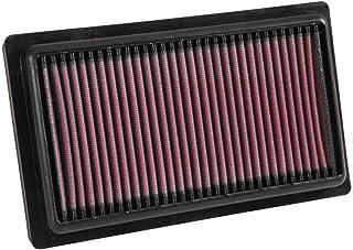 K&N 33 3052 Motorluftfilter: Hochleistung, Prämie, Abwaschbar, Ersatzfilter, Erhöhte Leistung, 2014 2019 (i20 II)