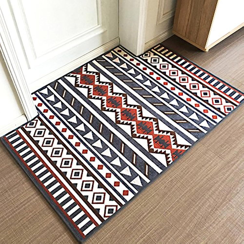 Doormat Simple Doormat Door Door Living Room Floor Bedroom Skid proof-A-80x120cm(31x47inch)
