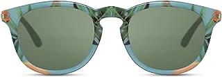 Cheapass - Gafas de Sol Iconic Clásicas Redondas Retro Vintage Estilo UV400 protegidas Metálicas Corners para Hombres y Mujeres