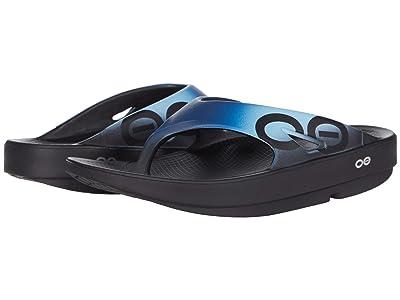 OOFOS OOriginal Sport (Black/Azul) Shoes