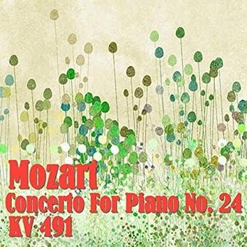 Mozart Concerto For Piano No. 24, KV 491