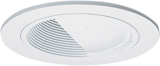 HALO Recessed 992W 4-Inch Trim Wall Wash and Scoop Baffle, White
