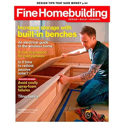 Fine Homebuilding Amazon Com Magazines