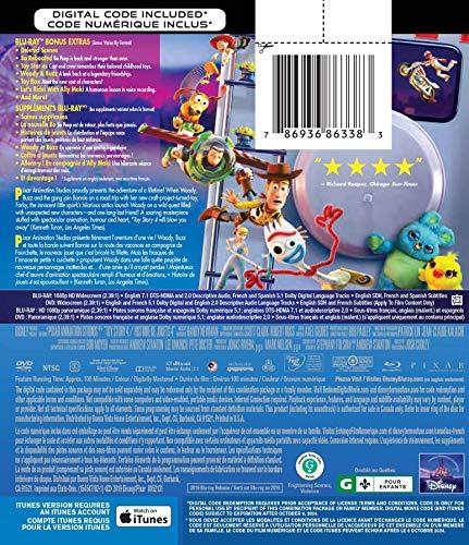 Toy Story 4 (2019) [Blu-ray + DVD + Numérique] (Bilingue) - 1