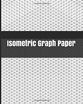 """Isometric Graph Paper: Large Isometric Graph Paper 1/4 Inch Equilateral Triangle